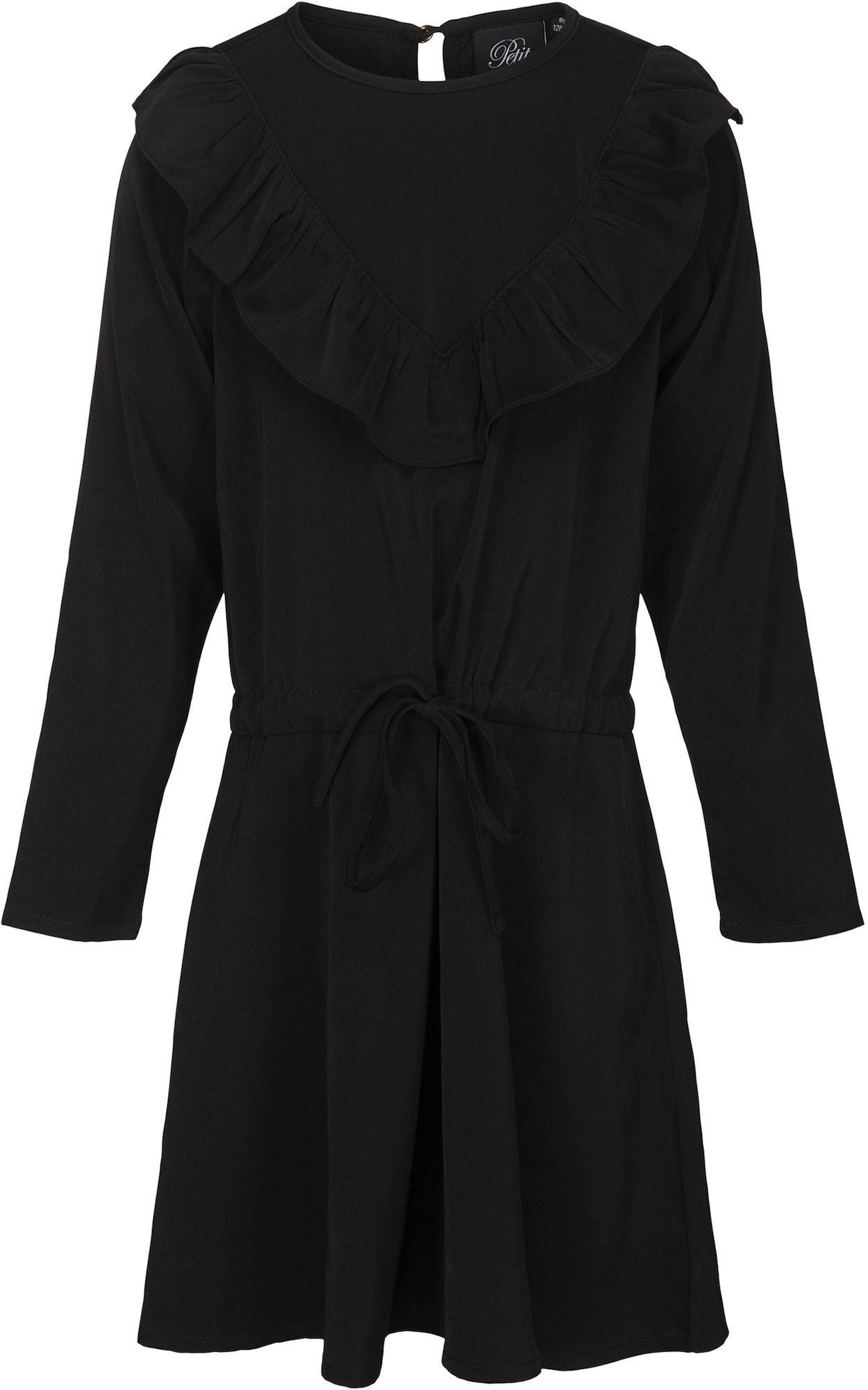 Kaufen Petitsofie Schnoor Kleid Black  Jollyroom