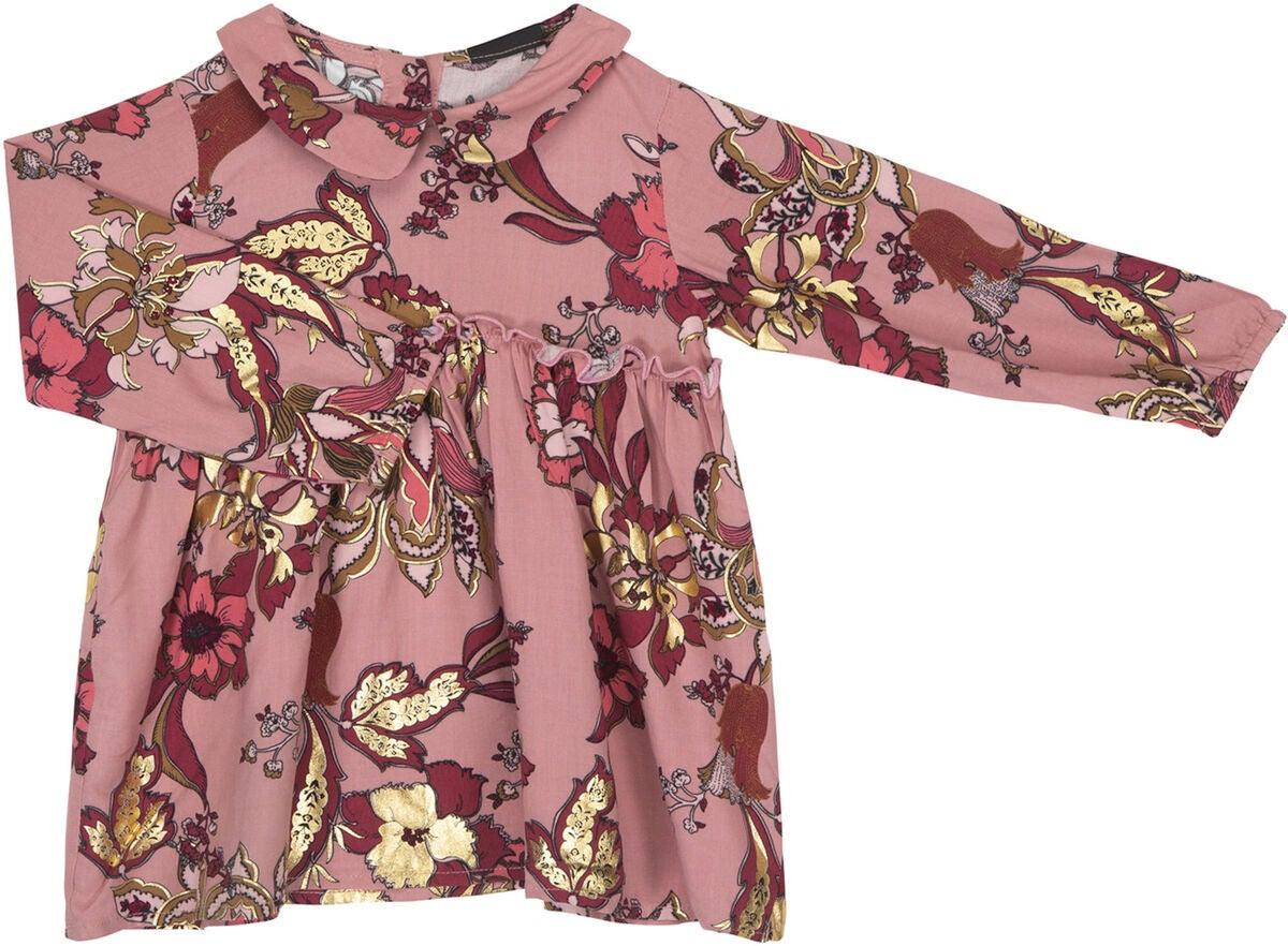 Kaufen Petitsofie Schnoor Kleid Dusty Rose  Jollyroom