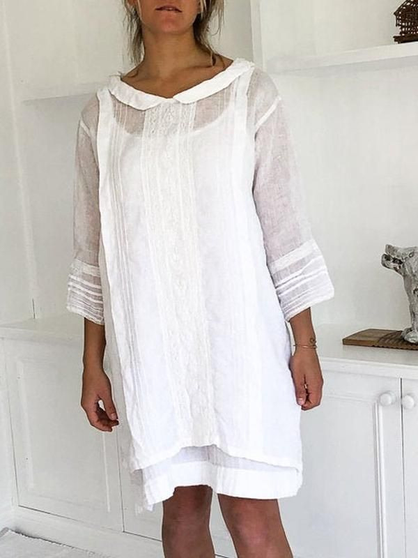 Kaufen Sie Freizeitkleid  Elencoco Blusenkleid