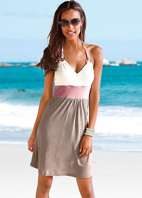 Khaki Beach Dressbeachtime  Swimwear365