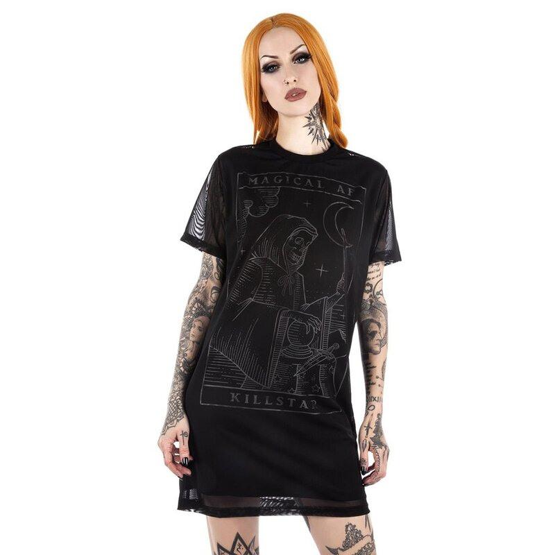 Killstar Tshirt Kleid  Magical Af € 3995