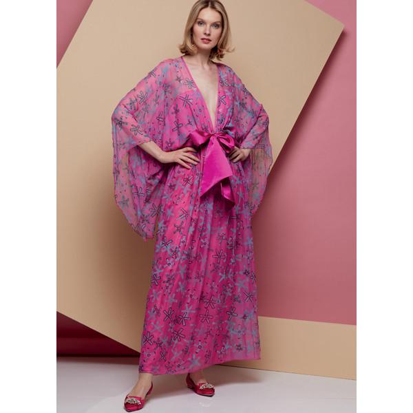 Kimono Kleid Vogue 1627  4248  Schnittmuster Kleid