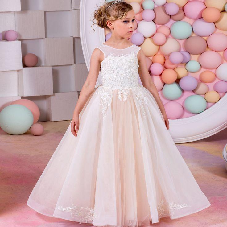 Kinder Party Kleider Baby Mädchen Kleider Für Hochzeiten