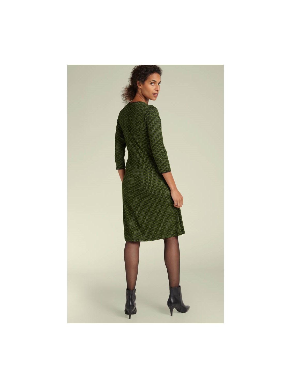 King Louie Kleid Cross Dress Loopy Grass Green