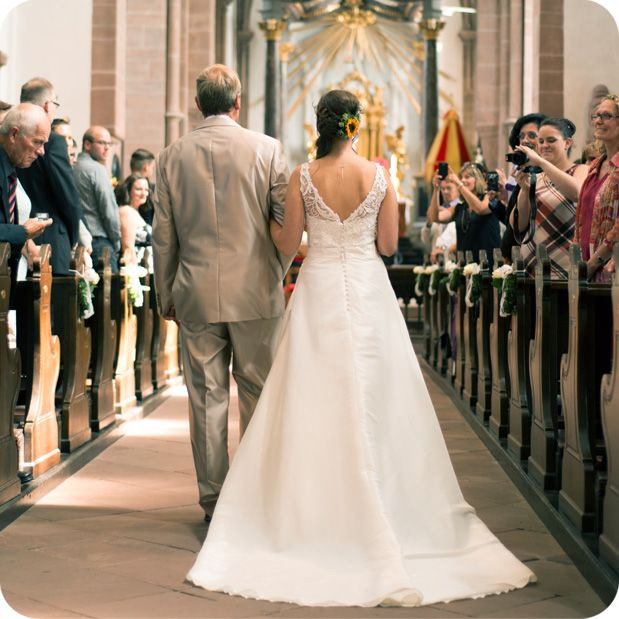 Kirchliche Trauung Aschaffenburg  Hochzeitsfotografie