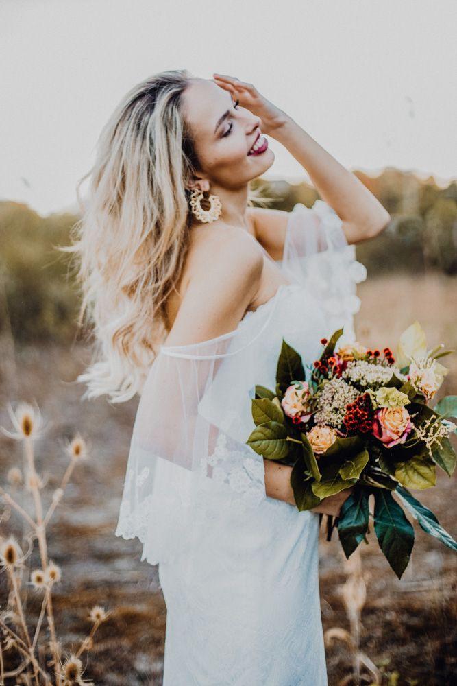 Kissedthe Sun Boho Wedding  Perfekt Wedding Dress