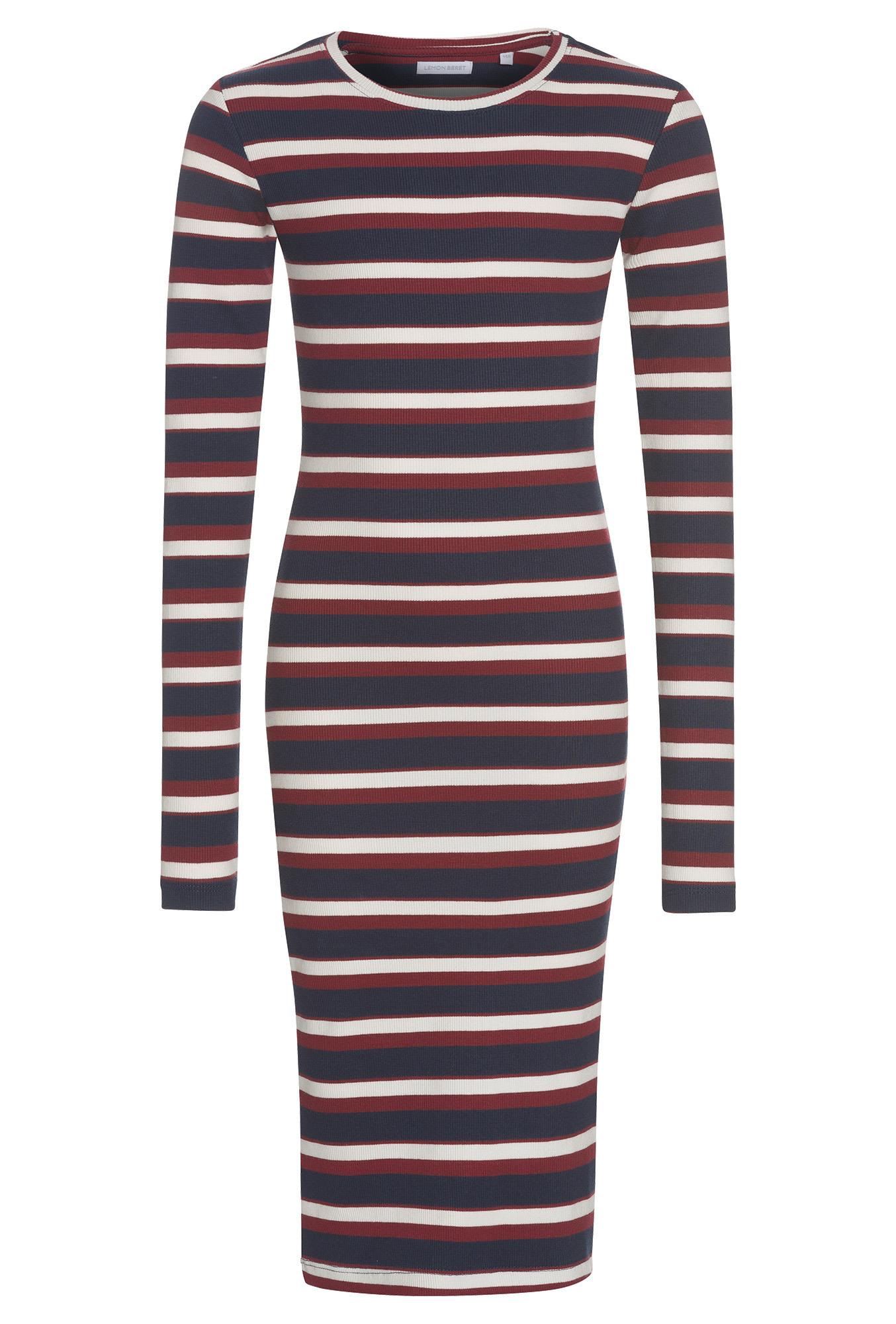 Kl  Gestreiftes Jerseykleid  Mädchen  Online Günstig