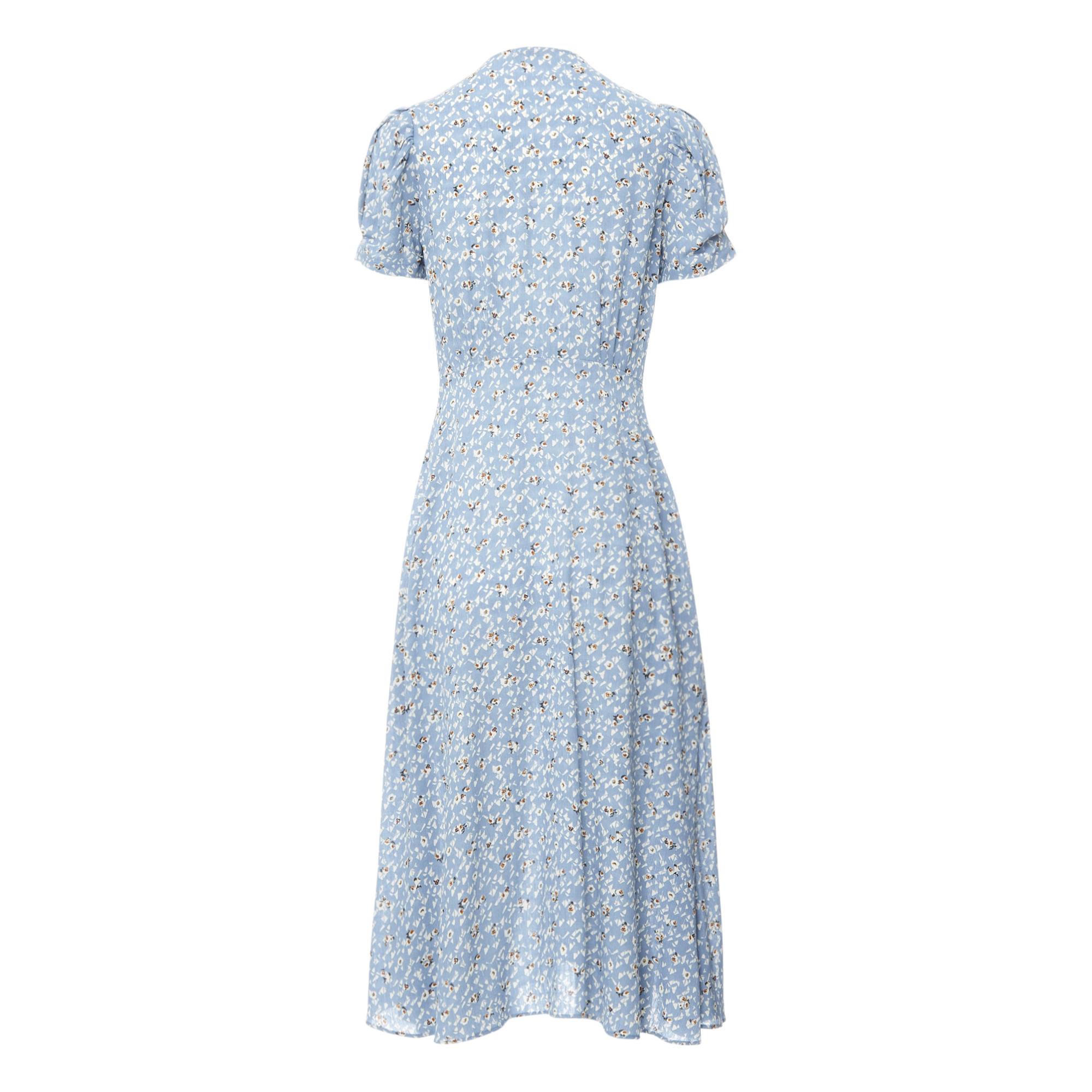 Kleid Adelaida Blau Sessun Mode Erwachsene