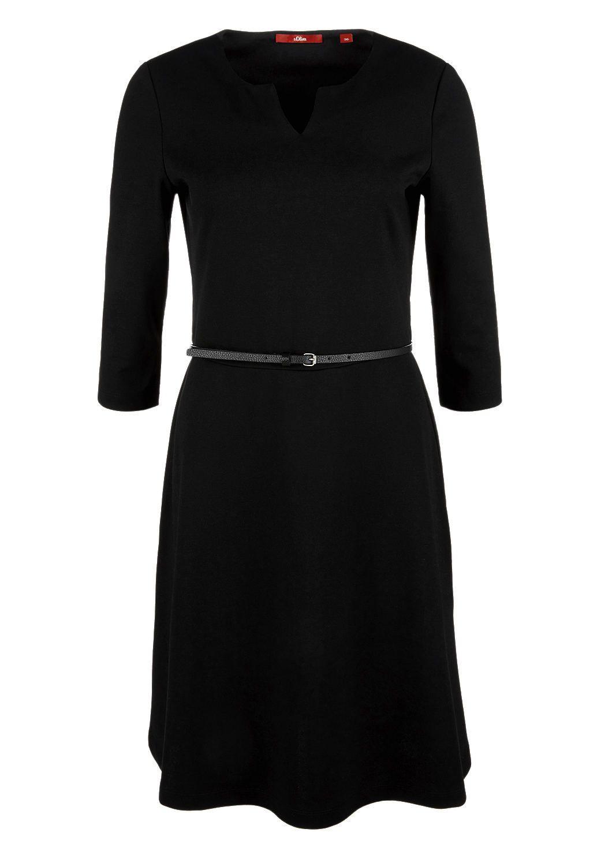 Kleid Aus Interlockjersey Kaufen  Soliver Shop