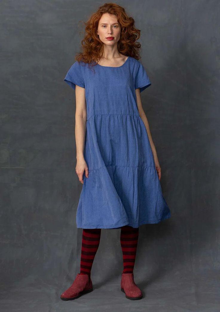 Kleid Aus Leinen/Baumwolle  Gudrun Sjödén  Kleiderstile