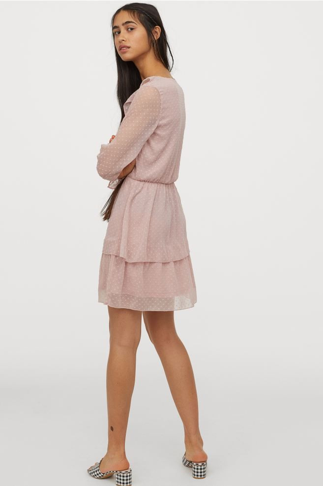 Kleid Aus Plumetischiffon In 2020 Mit Bildern  Chiffon