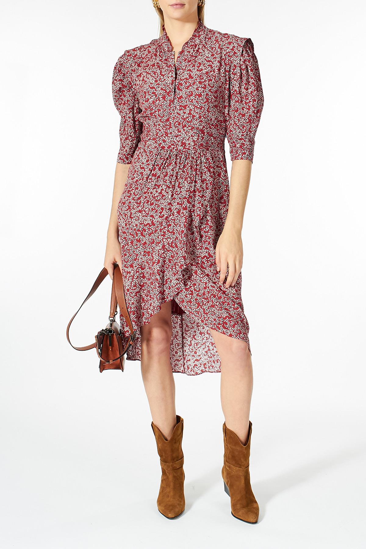 Kleid Aus Viskose  Bash  Myclassico