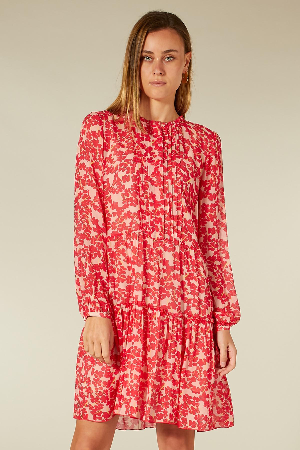 Kleid Aus Viskosechiffon  Bloom  Bloomclothing