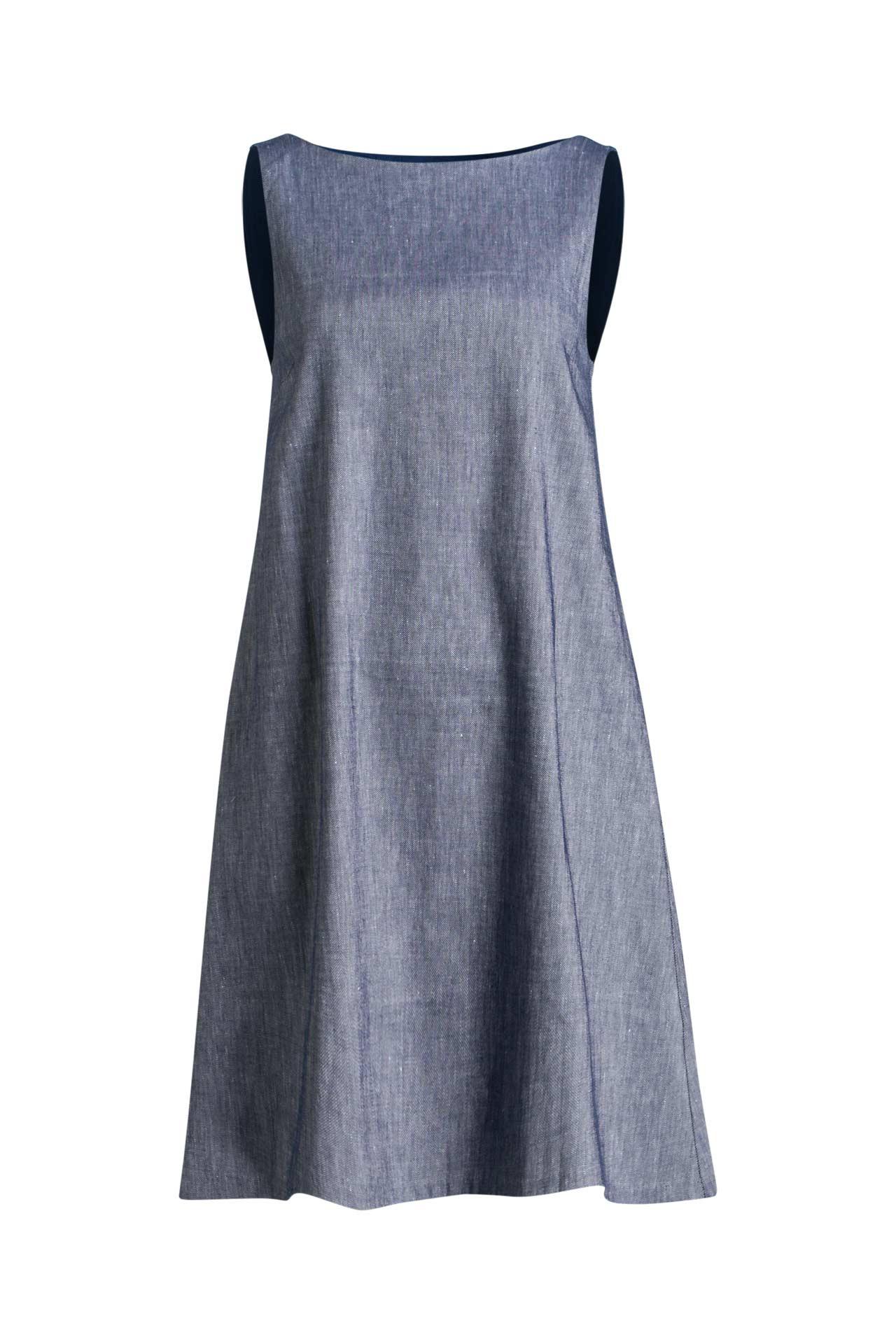 Kleid Blau  Stefanel » Günstig Online Kaufen  Outletcity