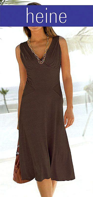 Kleid Braun  Kleider  Outlet Modeshop
