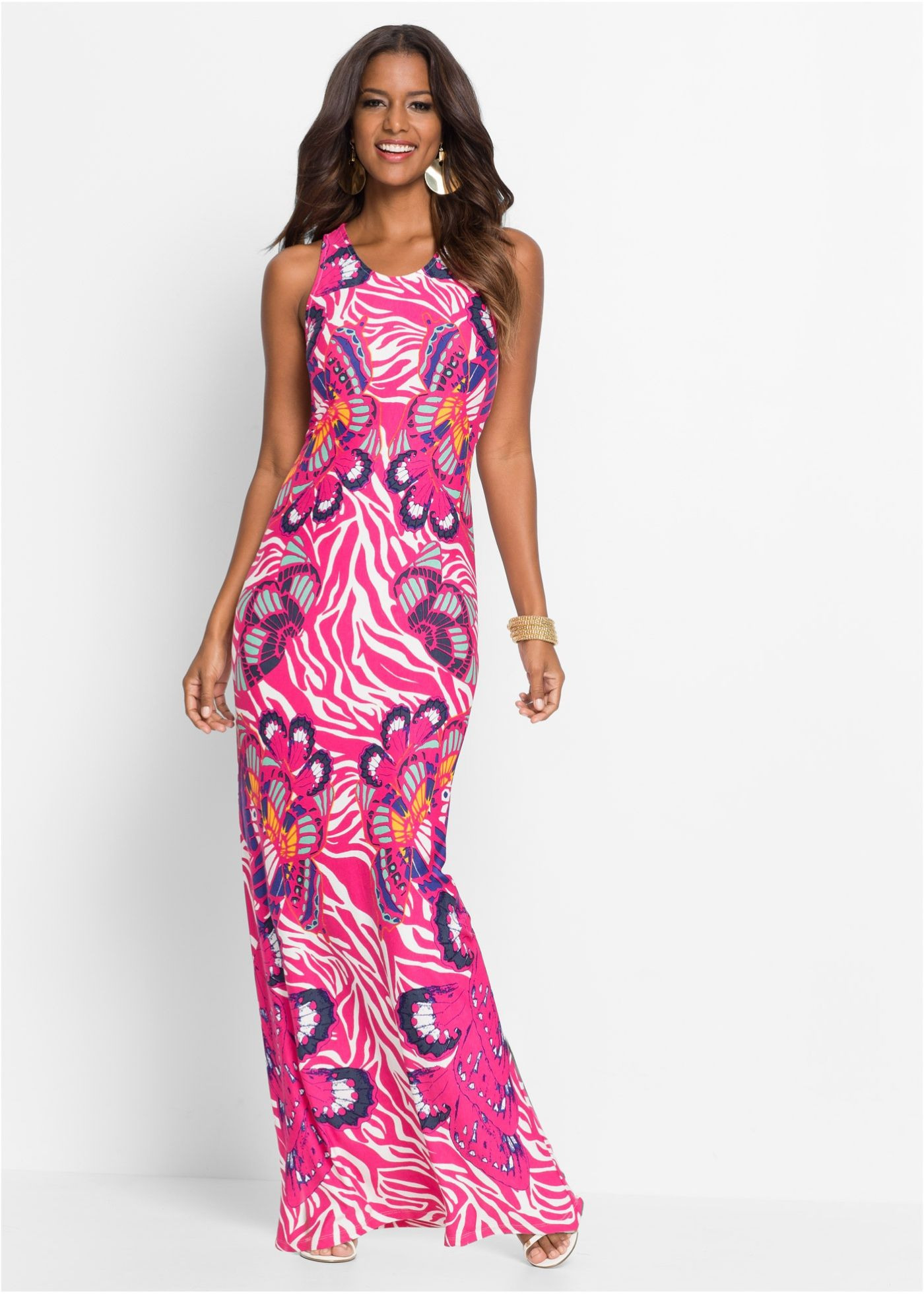 Kleid Bunt Rosa  Bodyflirt Boutique Jetzt Im Online Shop