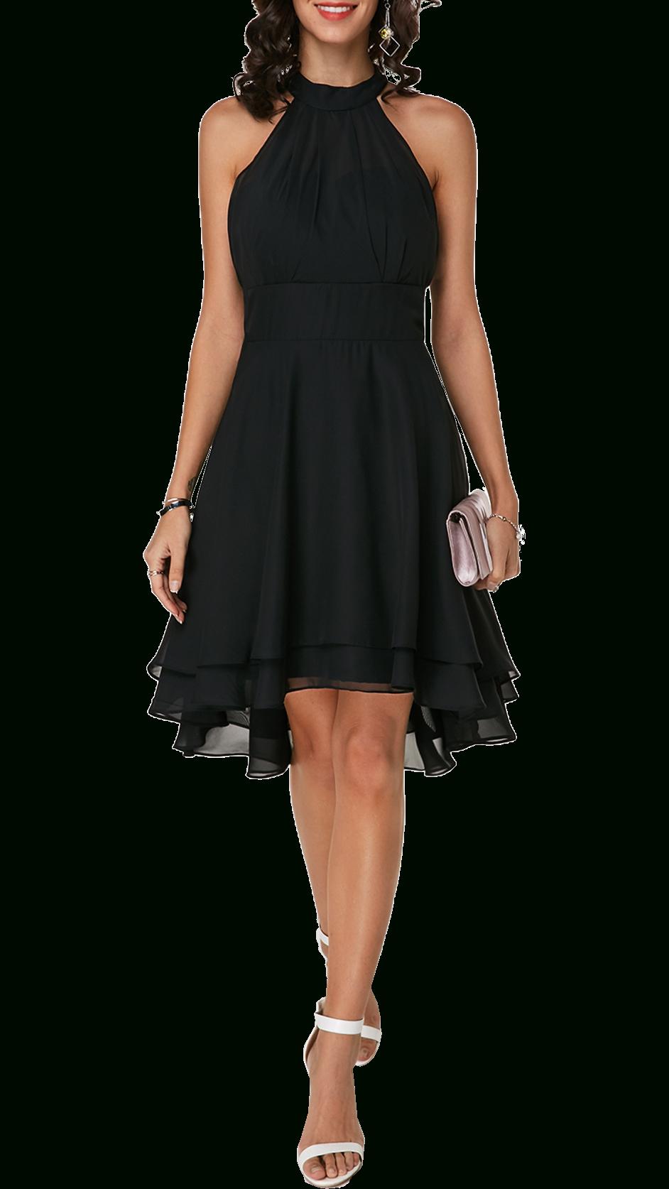 Kleid Chicago  Schwarz 43