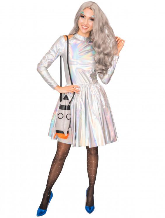 Kleid Damen Fancy Silber Für Karneval & Fasching Kaufen