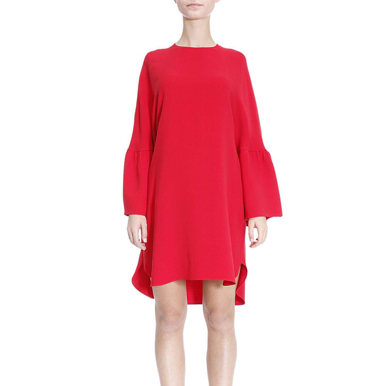Kleid Damen Valentino  Kleid Valentino Damen Rot  Kleid