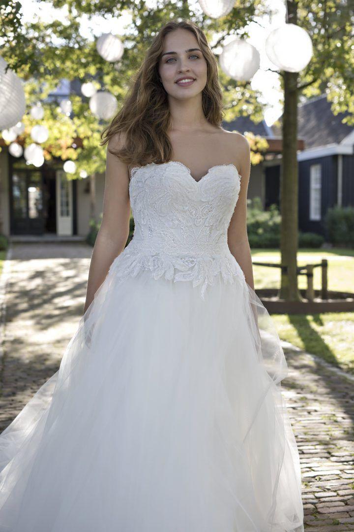 Kleid D'Amore Von Modeca  Kleid Hochzeit Braut