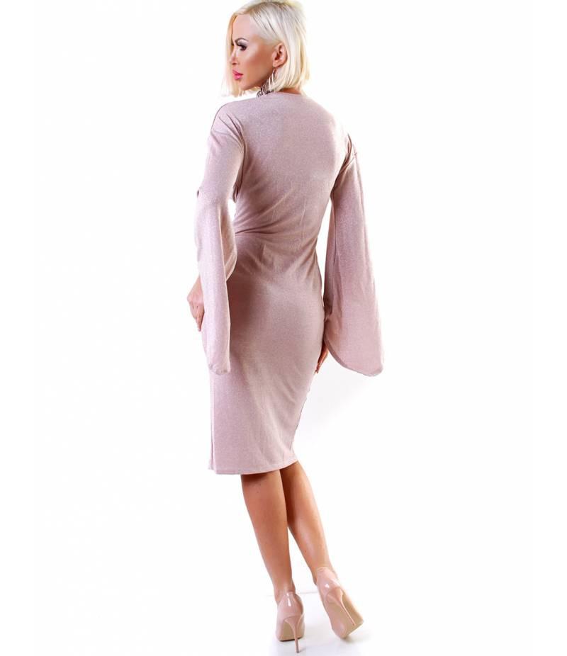 Kleid Dressnation  Lurex  Altrosa All Dresses