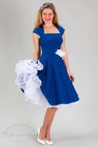 Kleid Dunkelblau Hochzeit