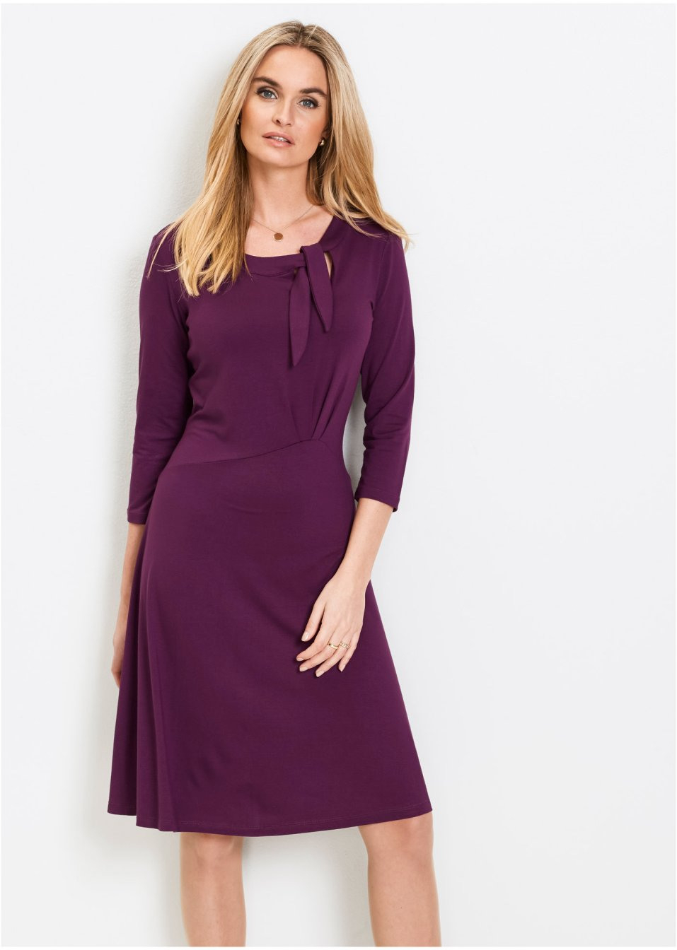 Kleid Dunkellila  Damen  Bpc Selection  Bonprixat