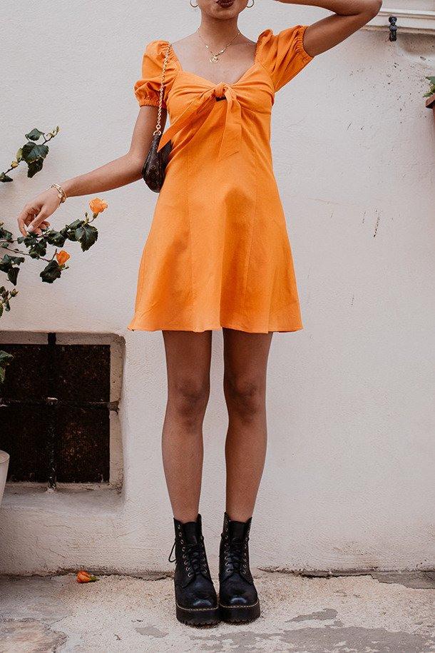 Kleid Elisabetta Orange