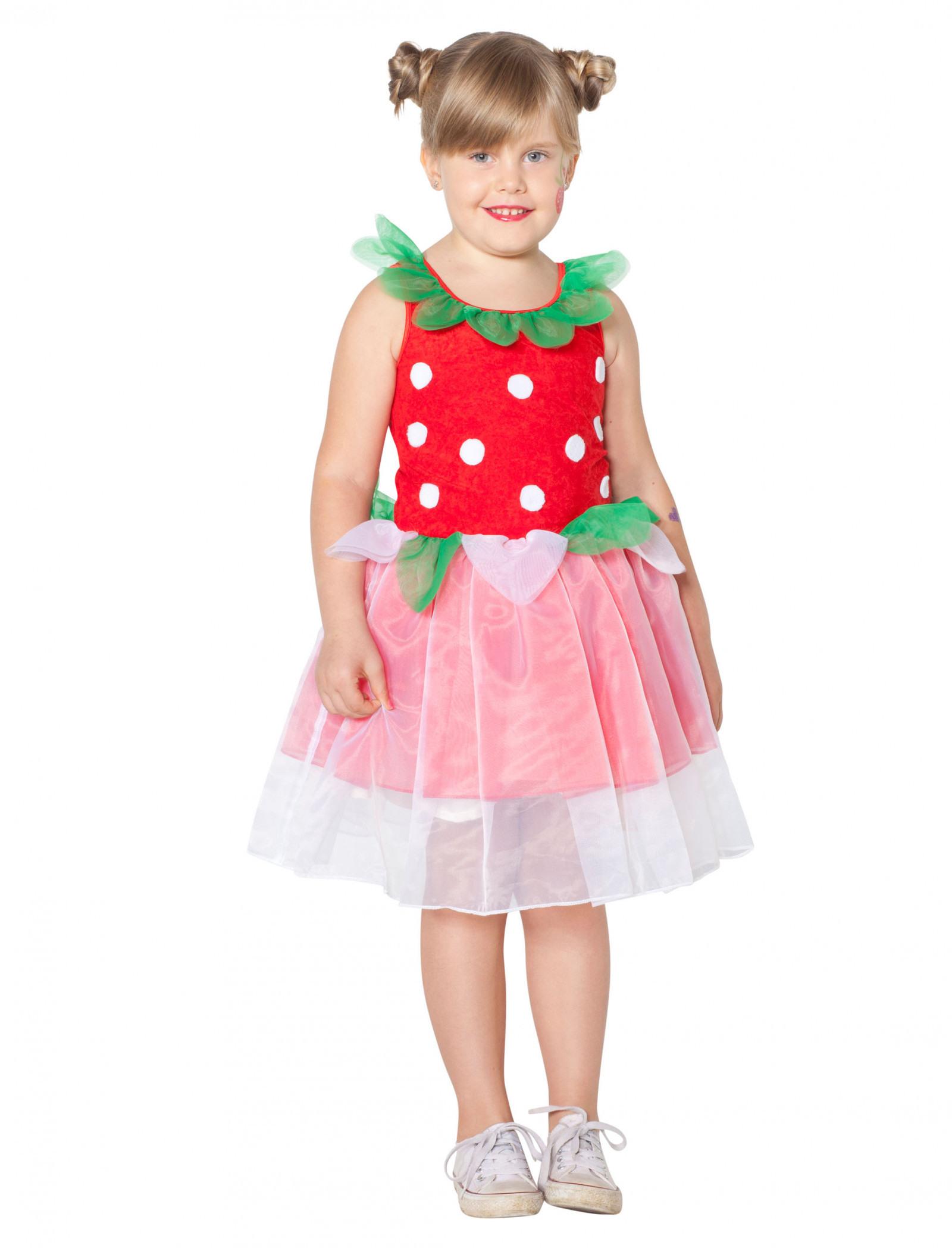 Kleid Erdbeere Kinder Für Karneval  Fasching Kaufen » Deiters