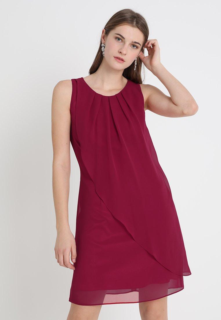 Kleid Festlich Weinrot 632E62
