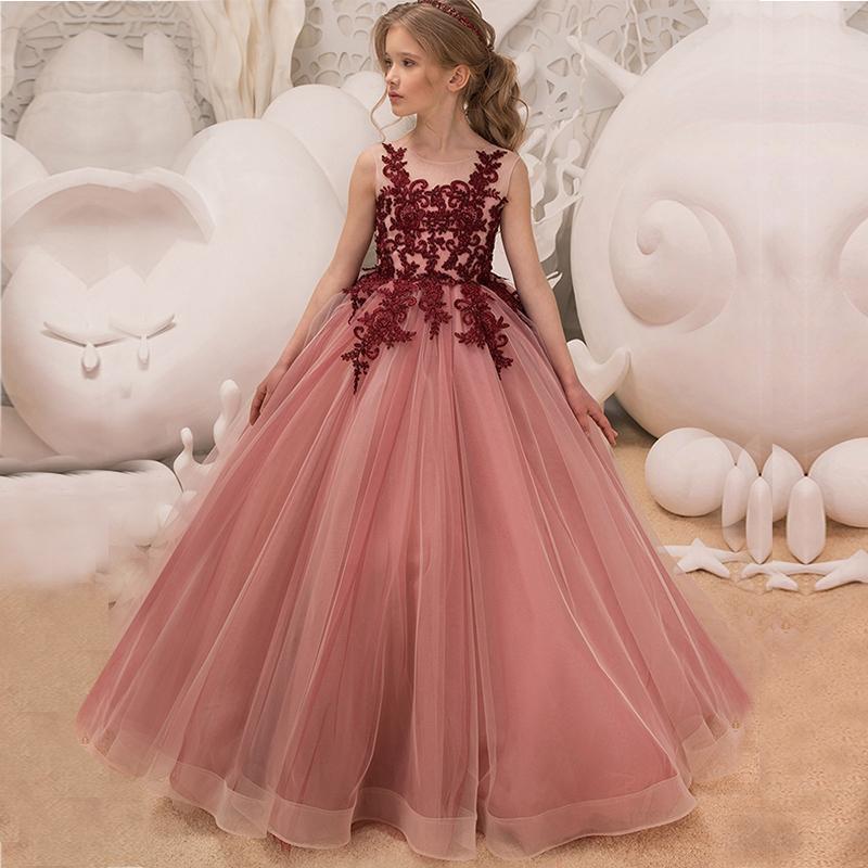 Kleid Für Hochzeit Mädchen  Kleider Fur Madchen Von