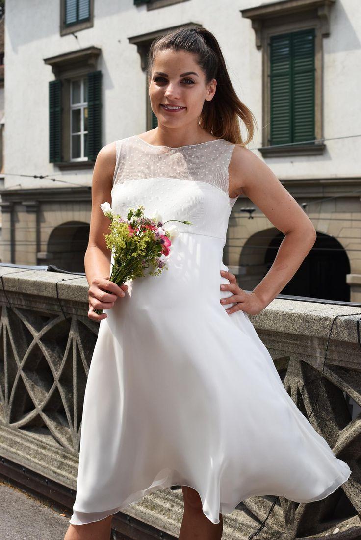 Kleid Für Ziviltrauung  Brautmode Braut Kleid Hochzeit