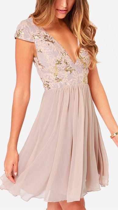 Kleid Hochzeit Gast 5 Besten  Evening Dresses Short