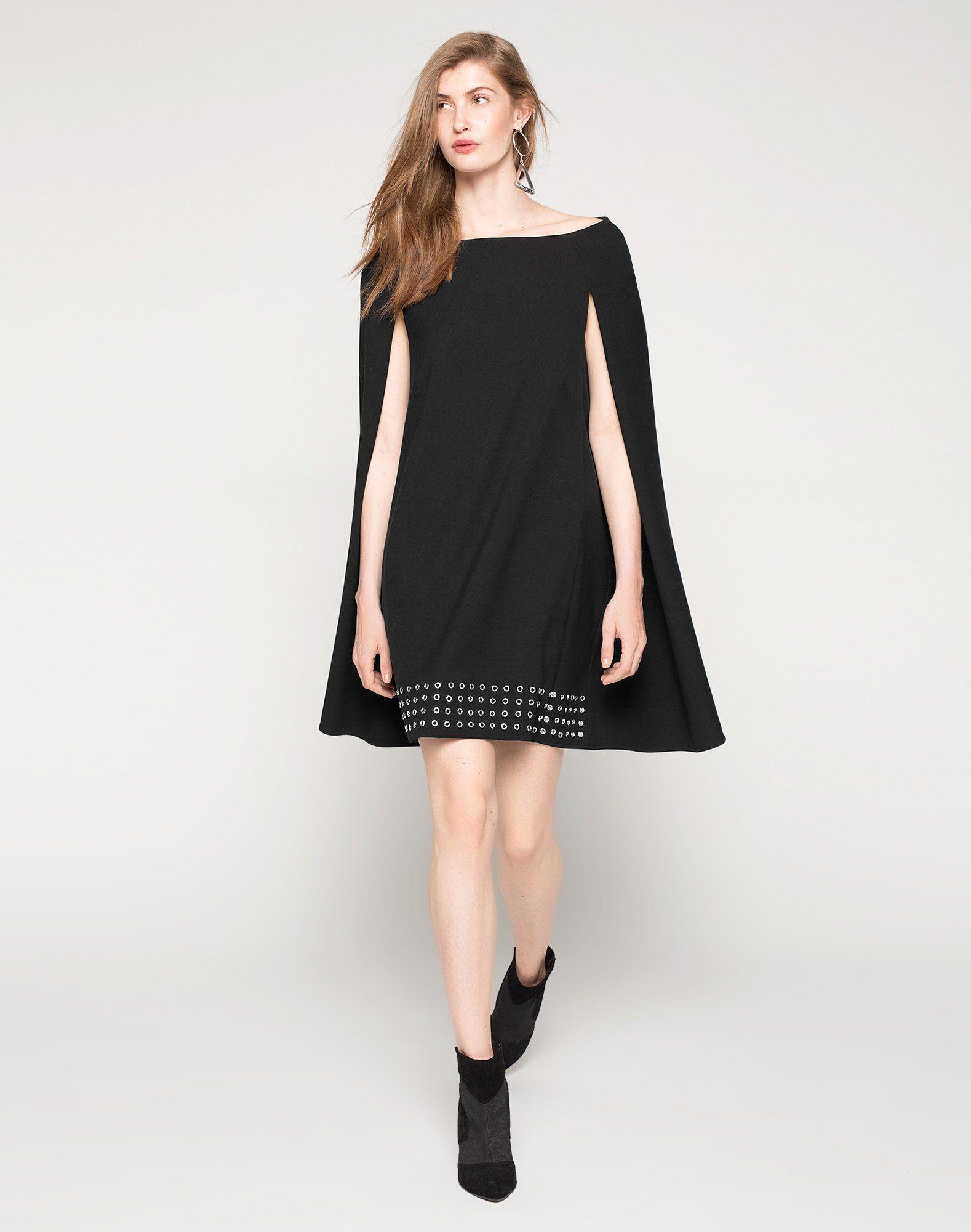 Kleid Im Capedesign 'Elisa'  Kleid Plus Größen Kleider