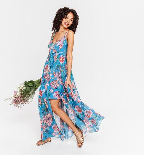 Kleid Im Italienischen Stil  Bunt Gemustert  Damen