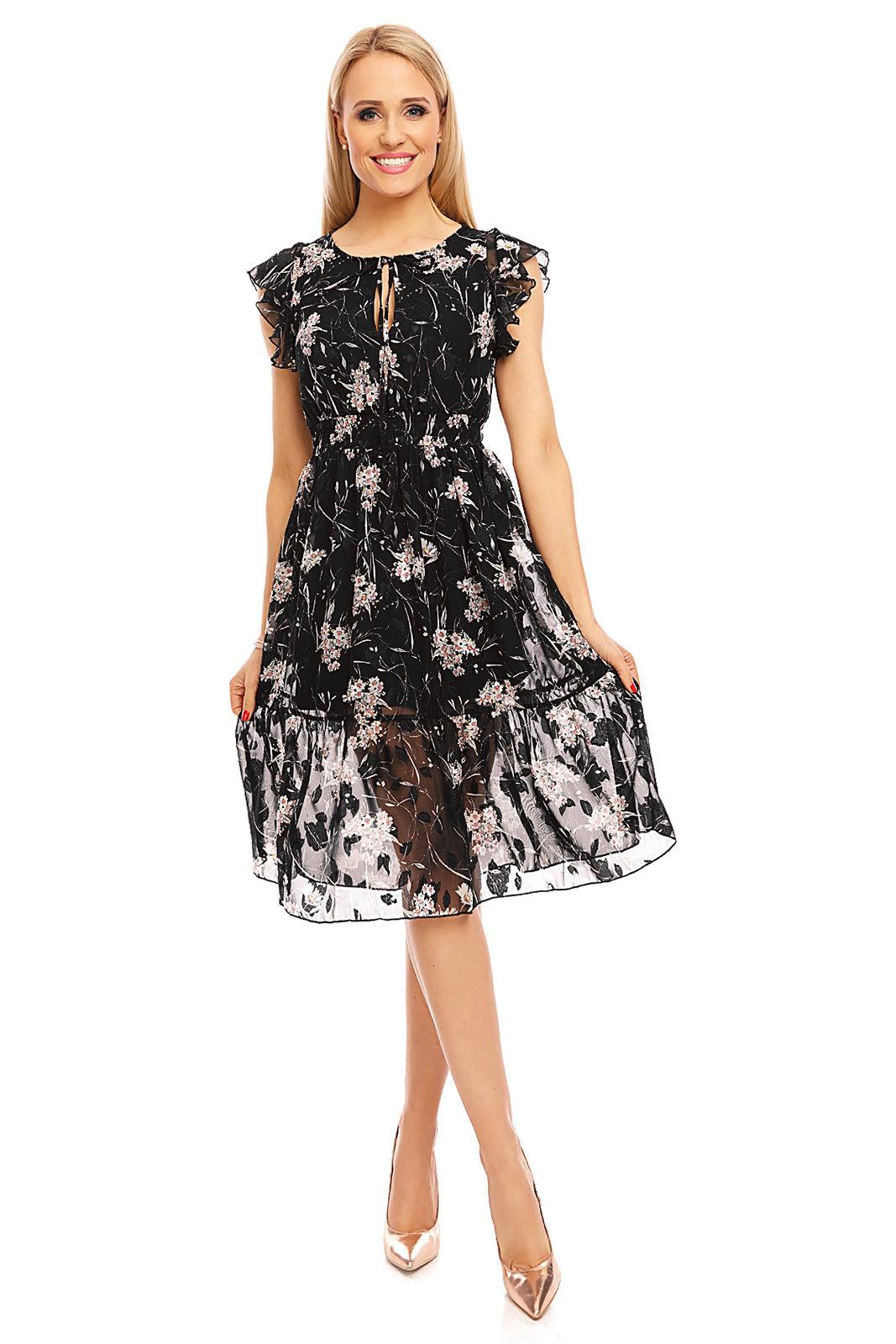Kleid In Vogue V897 Schwarz 3490