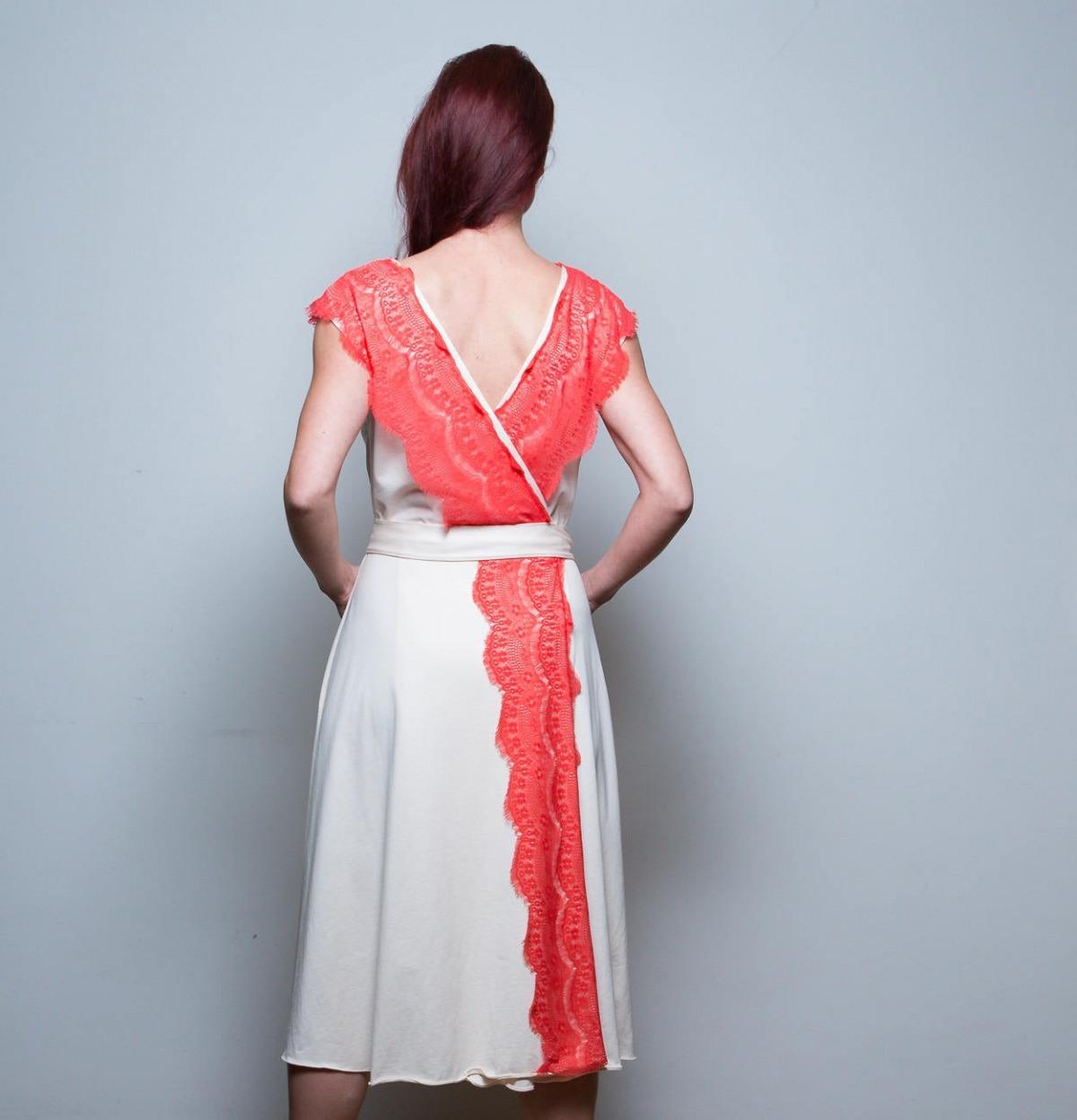 Kleid Jolie Wickelkleid Jersey Kleid In  Online Shop