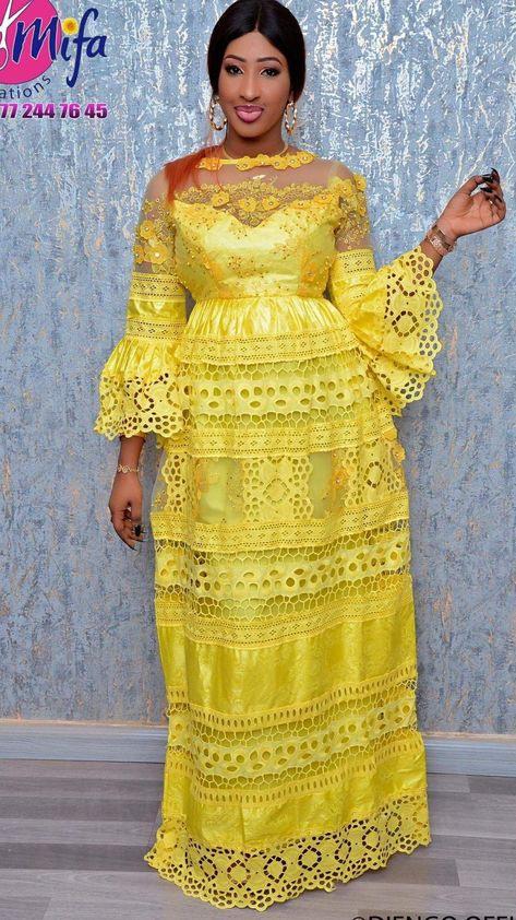 Kleid Kleid In 2020  Kleider Afrika Mode Mode