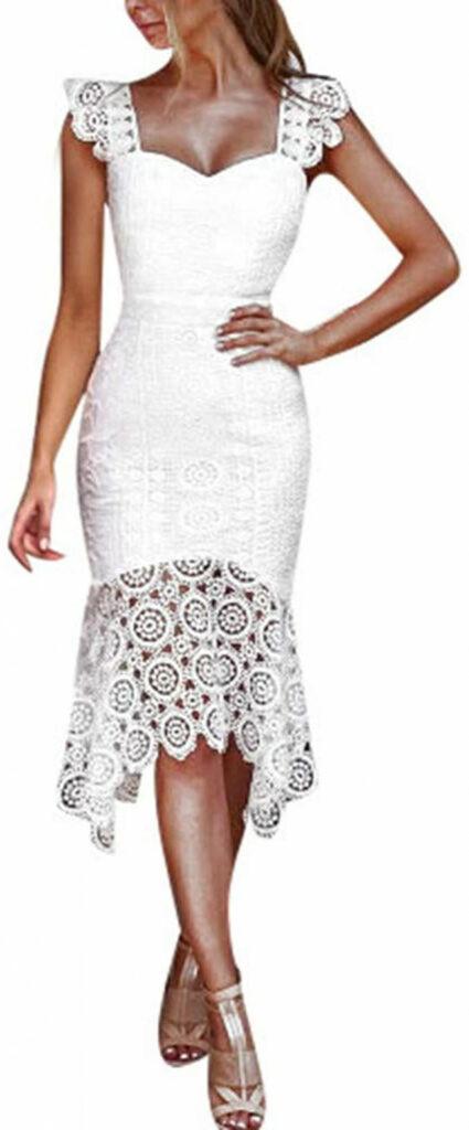 Kleid Kleider Sommerkleid Elegant Vintage Schöne Damen