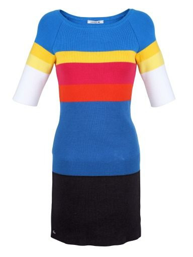 Kleid …  Lacoste Modestil Kleid Arbeit