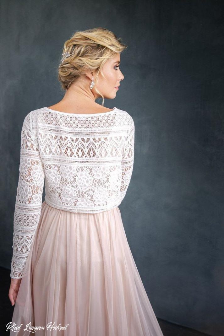 Kleid Langarm Hochzeit  Abendkleider