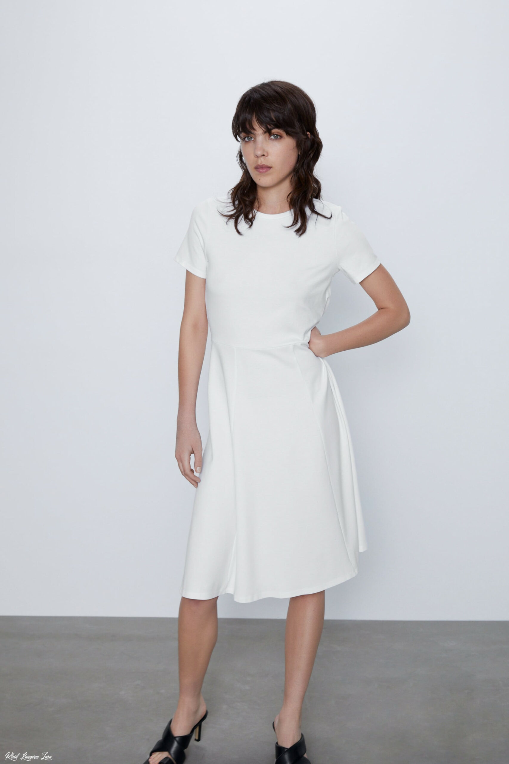 Kleid Langarm Zara  Abendkleider