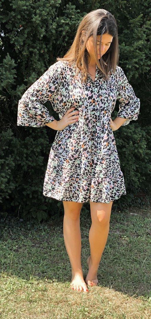 Kleid Leoprint  Piccolini Online Shop
