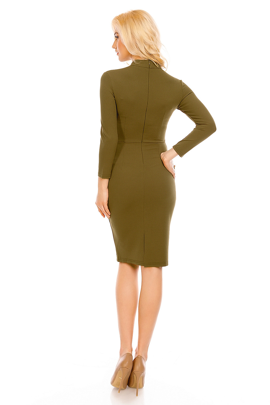 Kleid Lucy Wang W2195 Khaki