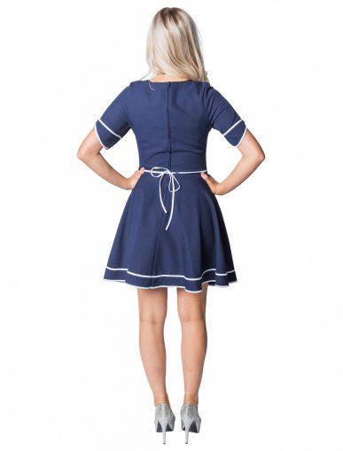 blau-kleid