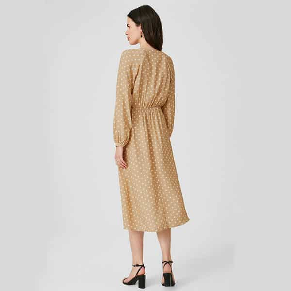 Kleid Midi Gepunktet  Landanzeiger Shopping