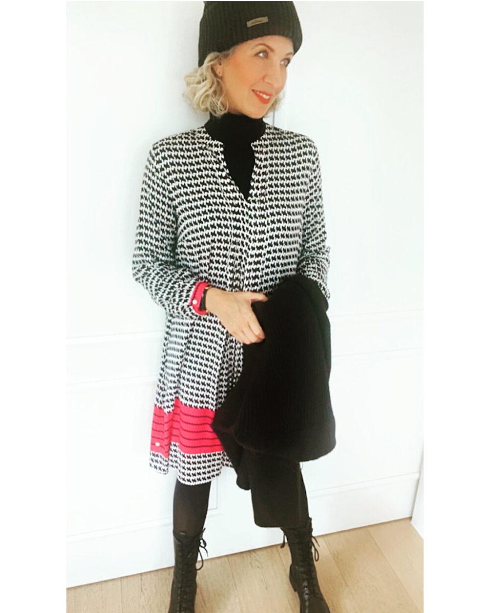 Kleid Milano Italy Hahnentritt  Charisma  Diana Stein