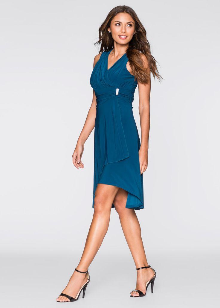 Kleid Mit Applikation Blau  Bodyflirt Jetzt Im Online