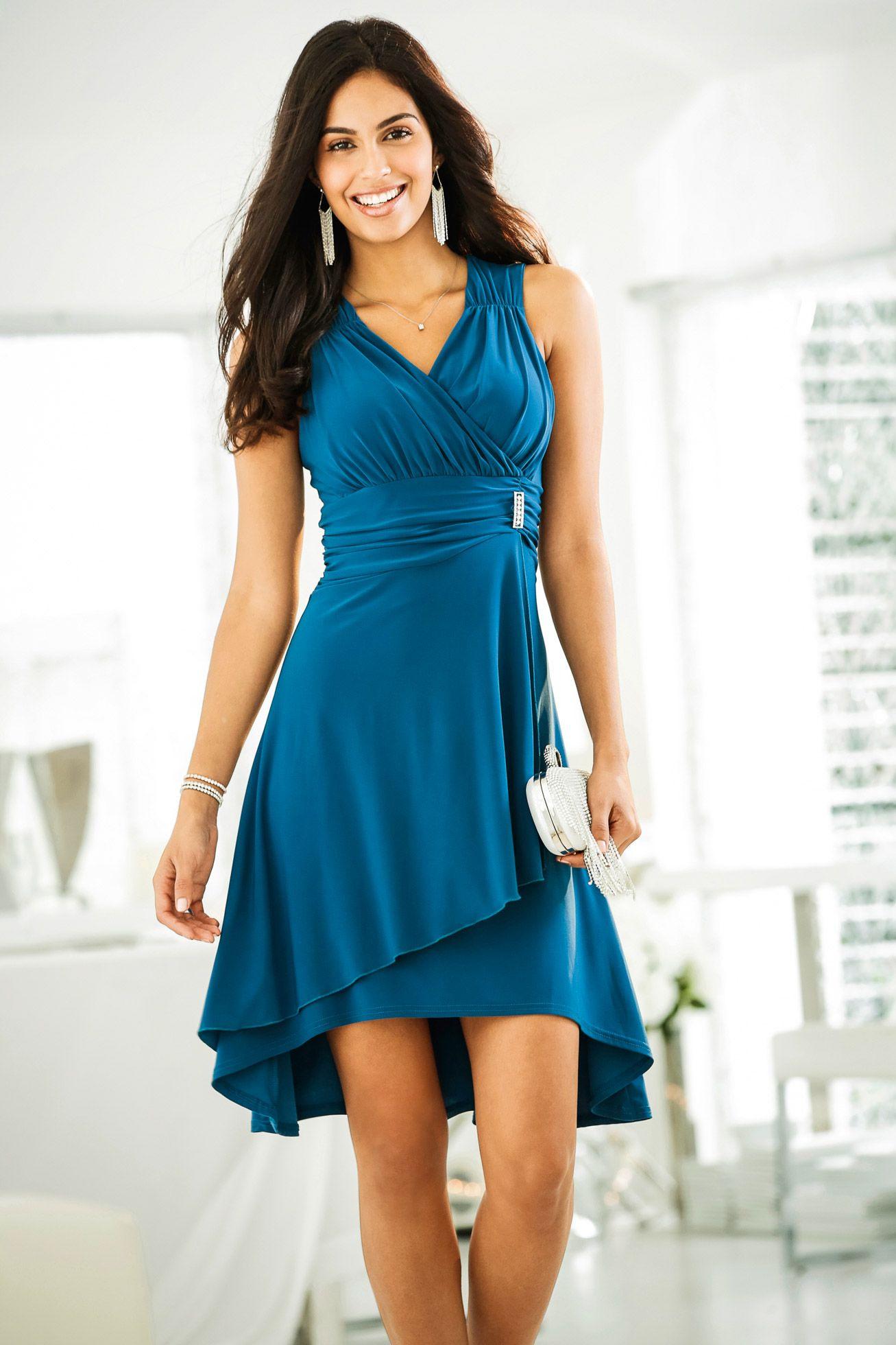 Kleid Mit Applikation Magenta  Bodyflirt Jetzt Im Online
