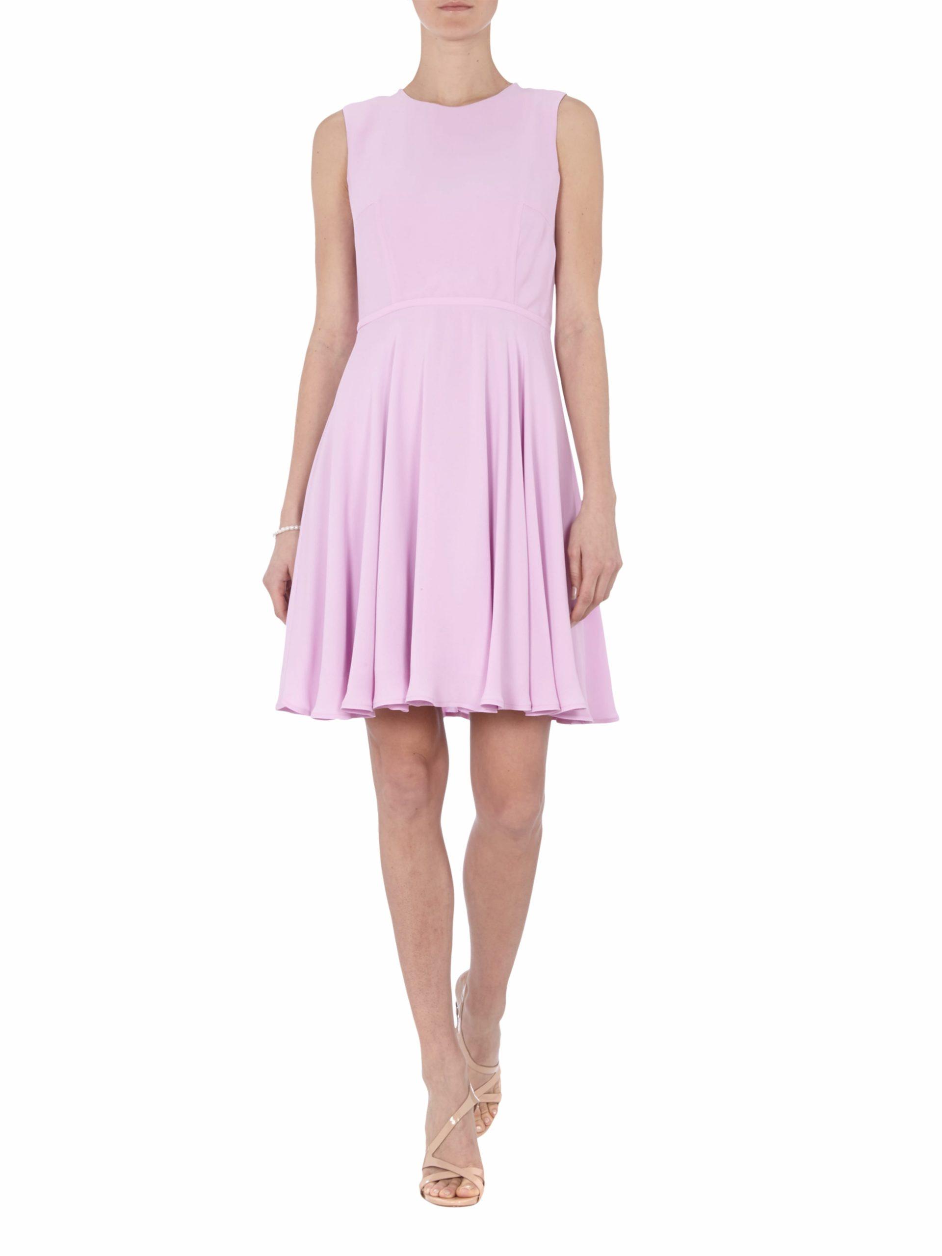 Kleid Mit Ausschwingendem Rockteil  Fashion Id Online Shop